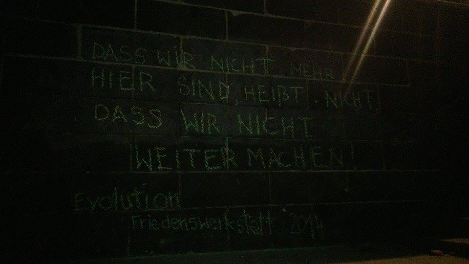 last message Weerkstatt