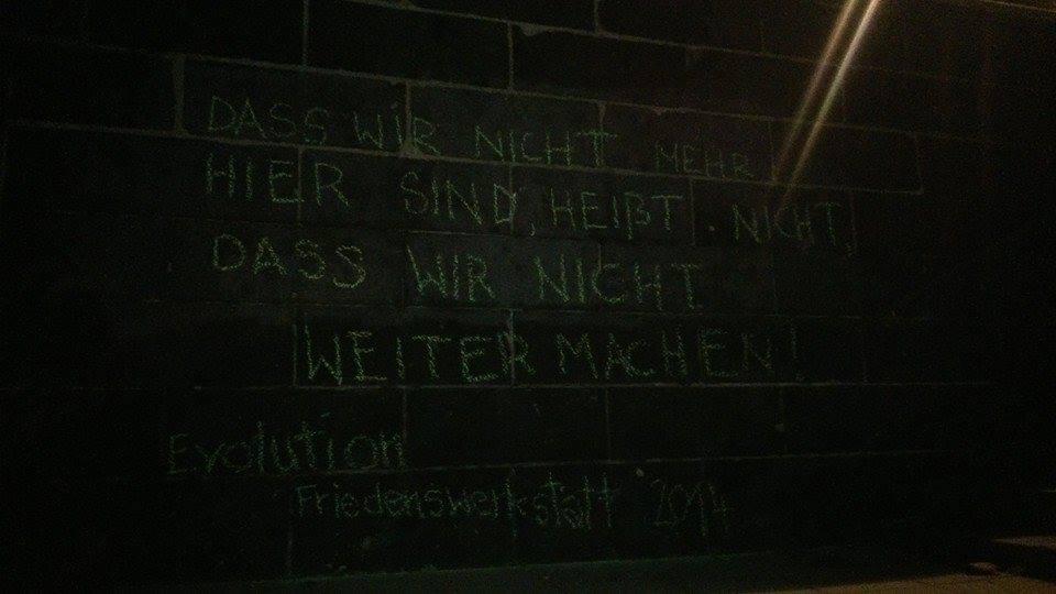 last message Weerkstatt